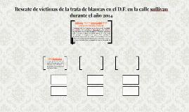 Rescate de víctimas de la trata de blancas en el D.F, en la