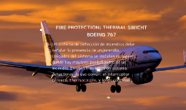 FIRE PROTECTION: THERMAL SWICHT