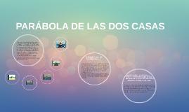 PARÁBOLA DE LAS DOS CASAS