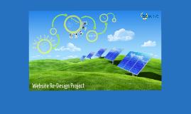 SEIA Website Re-Design Proposals
