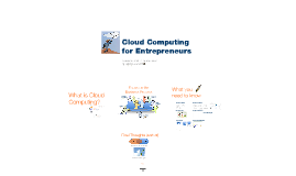 Webinar: Cloud Computing for Entrepreneurs