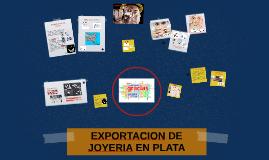 EXPORTACION DE JOYERIA EN PLATA