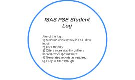 ISAS PSE Student Log