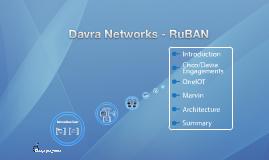 Copy of Davra Networks - RuBAN