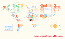Interacciones entre arte y literatura: