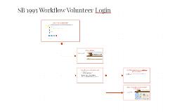 SB 1193 Workflow Volunteer Log-in