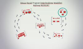 Amaca Dayalı Program Değerlendirme Modeli