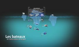 Copy of LES BATEAUX
