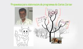 Propuestas Para La Elaboracion De Programas De Carlos Zarzar