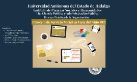 Proyecto Social Niño DIF