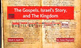 Week Three: MBS571 New Testament Theology