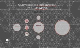 Copy of Guerra con la confederacion Peru- Boliviana