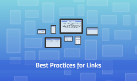 Best Practices for Links