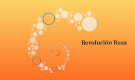 Revolición Rusa