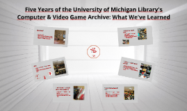 Five Years of the University of Michigan Library's Computer
