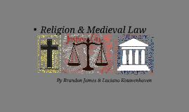 Religion & Medieval Law (+ Dante's Inferno)