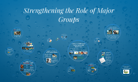 Strengthening the Role of Major Groups