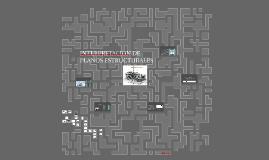 Copy of INTERPRETACION DE PLANOS ESTRUCTURALES