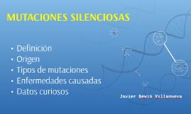 MUTACIONES SILENCIOSAS