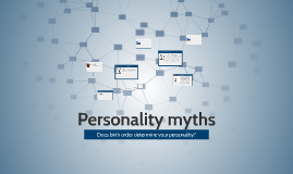 Personality myths