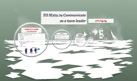 EO M303.04 Communicate as a team leader
