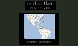 Hoja de Vida: Norell A. Winburn