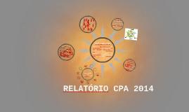 RELATÓRIO CPA 2014