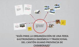"""Copy of """"GUÍA PARA LA ORGANIZACIÓN DE UNA FERIA GASTRONÓMICA ENDÉMIC"""
