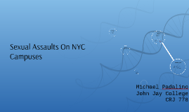 Sexual Assaults On NYC Campuses
