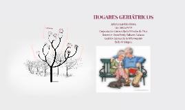 HOGARES GERIÁTRICOS