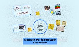 Copy of Análisis Semiótico discursivo / ideológico