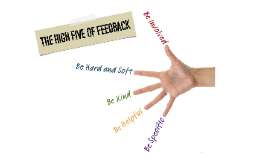 The High Five of Feedback