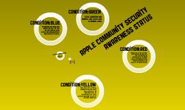 Awareness Status Overview