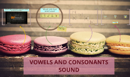 VOWELS AND CONSONANTS SOUND