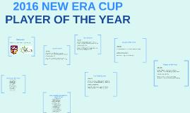 2016 NEW ERA CUP