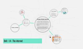 Unit 2 - 1.4 - The internet