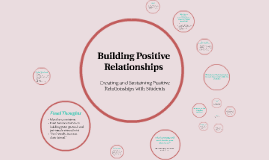 Copy of Building Positive Relationships