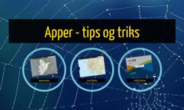 Apper - tips og triks