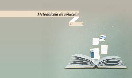Metodología de solución
