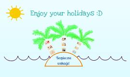 Bezpieczne wakacje