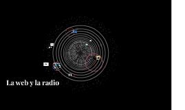 La web y la radio