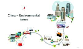 China -  Environmental Issues