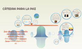 Copy of CÁTEDRA DE PAZ
