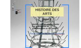 HISTOIRE DES ARTS - Porte bouteille, Marcel Duchamp
