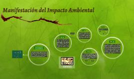 Manifestación de Impacto Ambiental