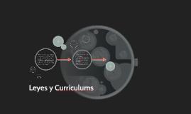Leyes y Curriculums