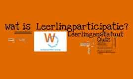 PWS Leerlingenraad Lessen (Nederlands)