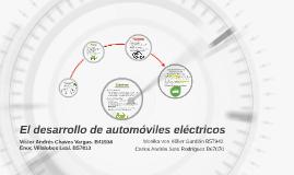 El desarrollo de automóviles eléctricos