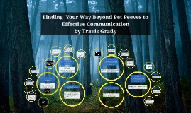 Finding Your Beyond Pet Peeves to Effective Communication