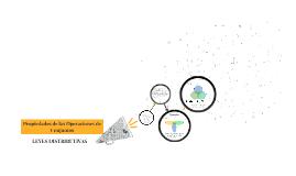 Leyes Distributivas-Propiedades de las Operaciones de Conjuntos